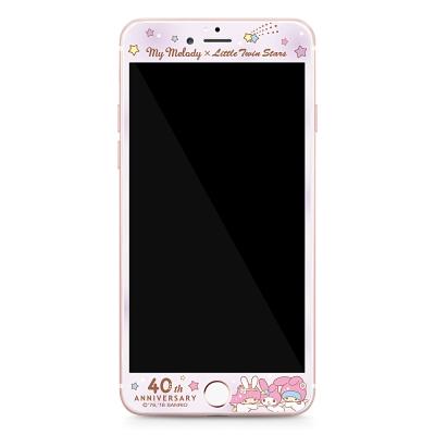 GARMMA 美樂蒂x雙子星 iPhone 6/6S 4.7吋鋼化玻璃膜-繁星點點