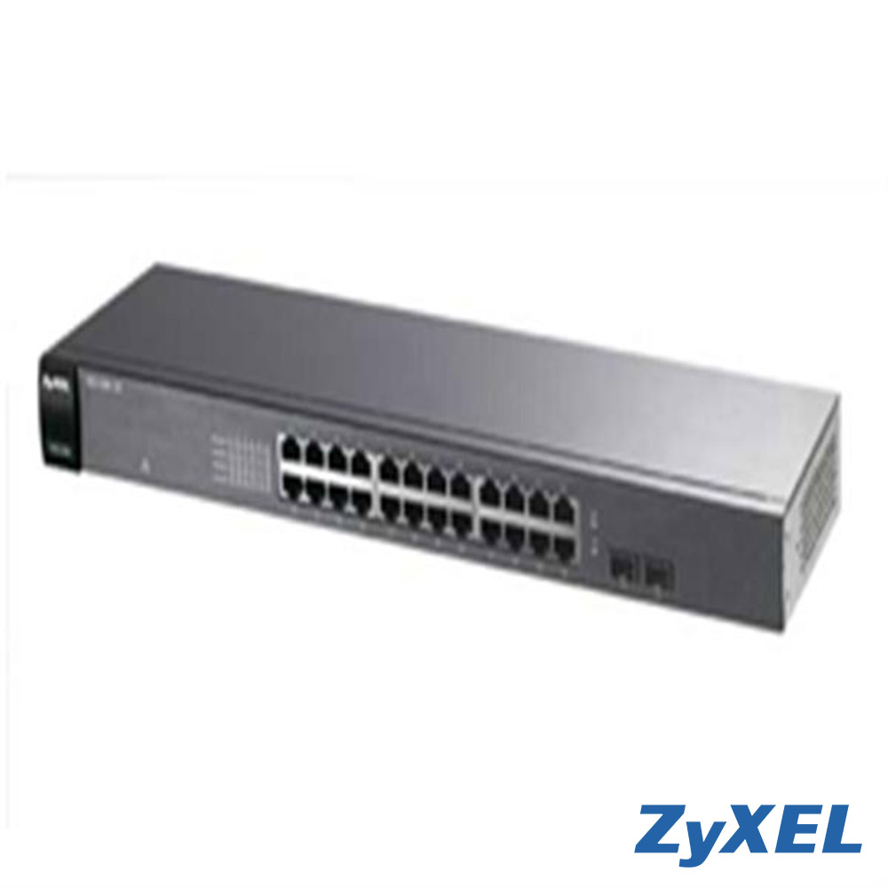 ZyXEL GS1100-24 v2 企業級區域網路交換器