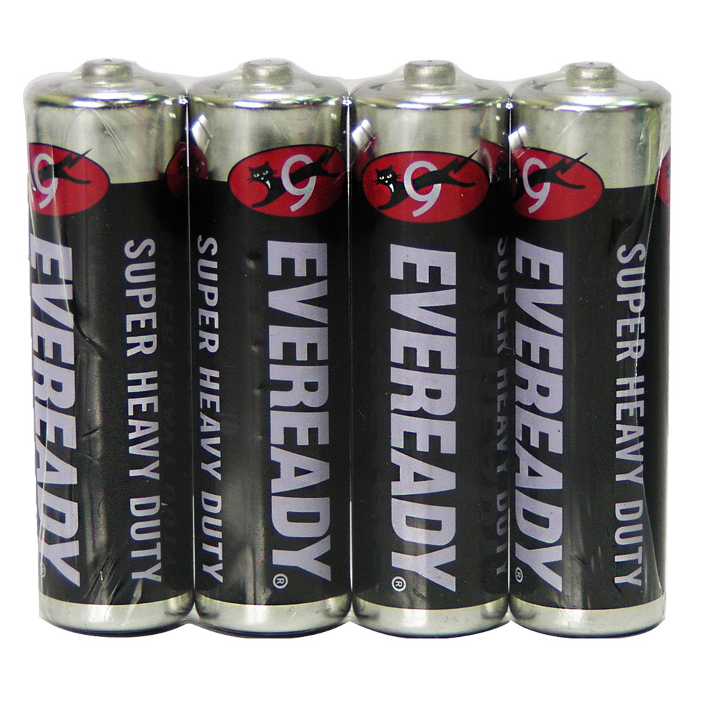 永備 碳鋅電池4號(AA)(4顆/組)