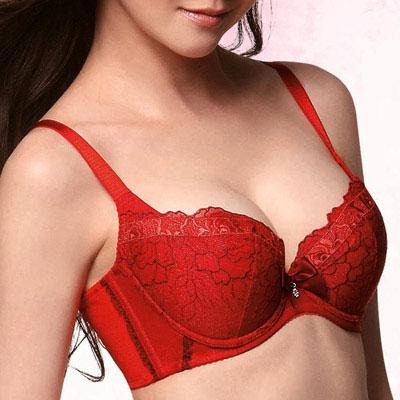 華歌爾-生物能健康系列-A-C罩杯內衣-人氣紅