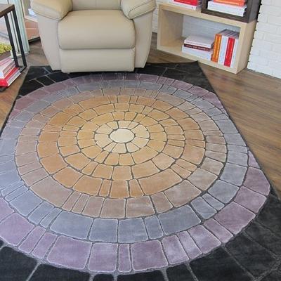 范登伯格 - 美亞 立體雕花地毯 - 焦點 (160 x 230cm)