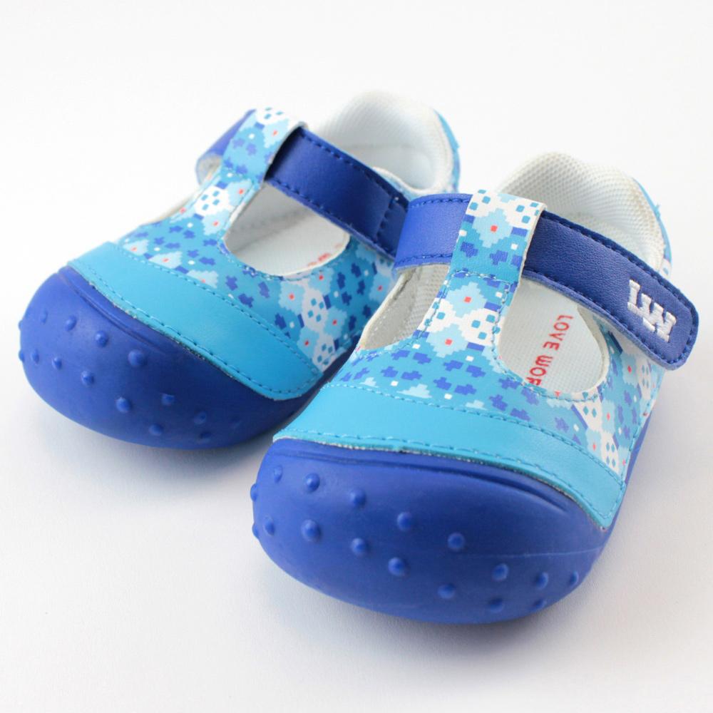 愛的世界 動物大集合寶寶鞋/學步鞋 -中國製-