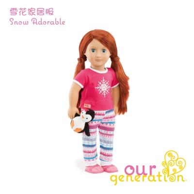 美國【our generation】雪花家居服 (3Y+)