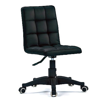GD綠設家 美利芙低背皮革機能辦公椅(無扶手)-40x37x90cm免組