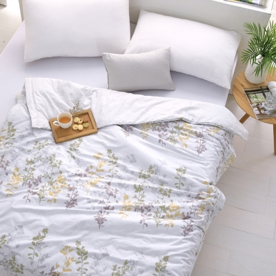Cozy inn 雨露-200織精梳棉-涼被(6X7尺)