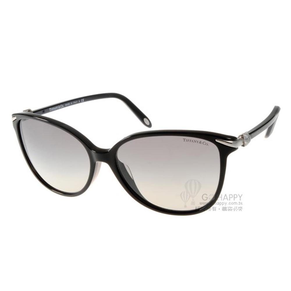 Tiffany&CO.太陽眼鏡 經典傳世/黑色#TF4061GA 80013C