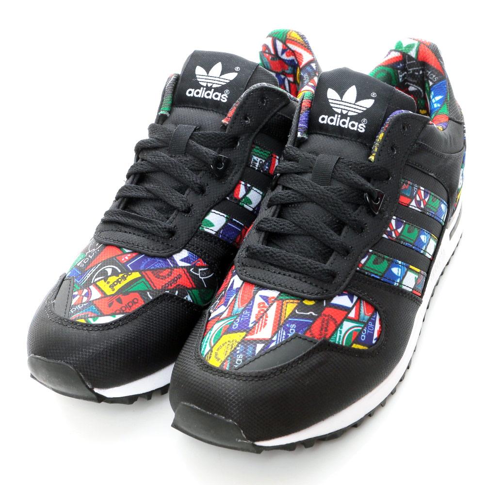 ADIDAS-ZX 700 男慢跑鞋-黑多彩