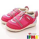 IFME健康機能鞋 輕量包覆學步款 EI00033 粉紅 (寶寶段)