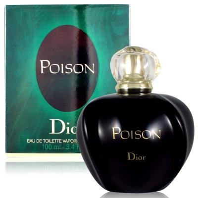 Dior迪奧 毒藥女性淡香水100ml+隨機針管香水1份