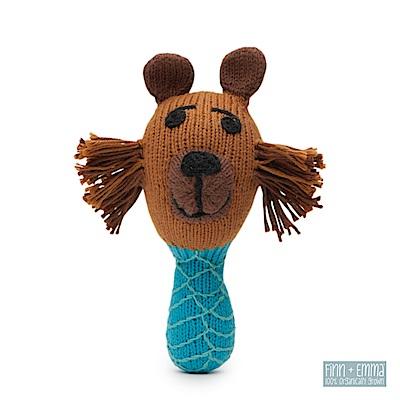 美國-FINN-EMMA-有機棉手工針織娃娃搖鈴棒