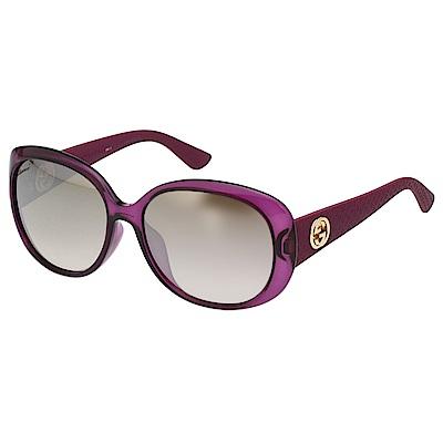 GUCCI 水銀面 太陽眼鏡 (果凍紫) GG3794FS