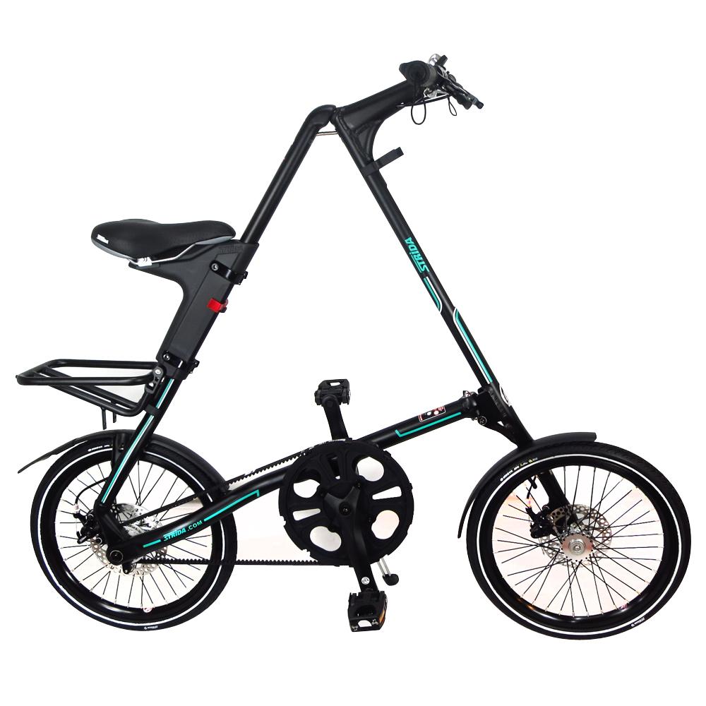 STRiDA 速立達 18吋SX 折疊單車(碟剎) 平光黑