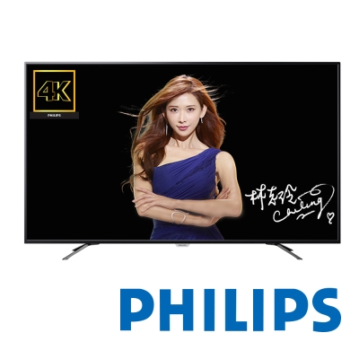 PHILIPS飛利浦 50吋 4K 液晶顯示器+視訊卡 50PUH6082