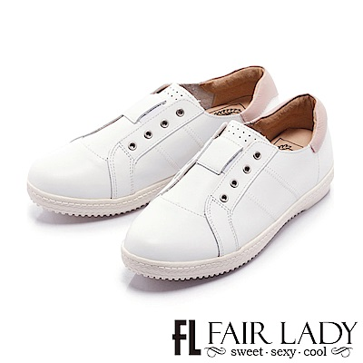 Fair Lady Soft Power 軟實力 時髦度滿載潮人最愛小白鞋 粉
