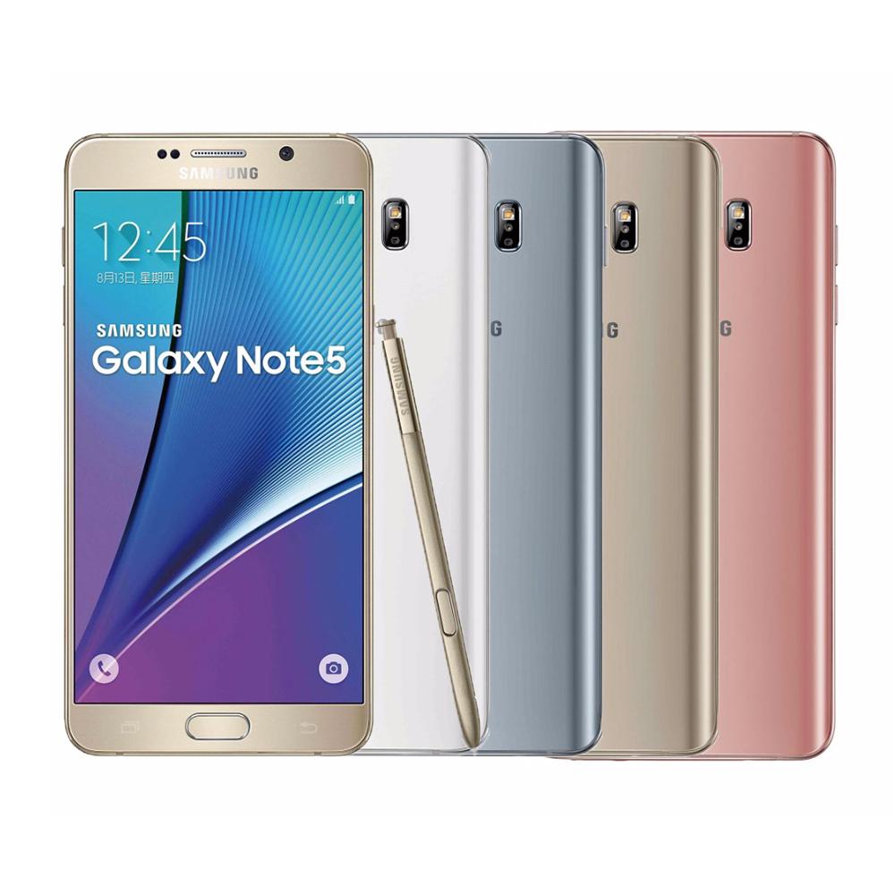 福利品Samsung Galaxy Note 5 64G 5.7吋智慧手機拆封
