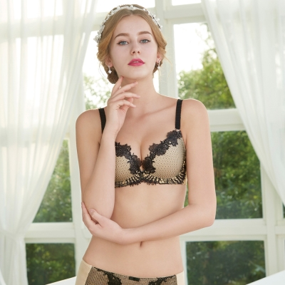 瑪登瑪朵 高單內衣  B-E罩杯(黑色)