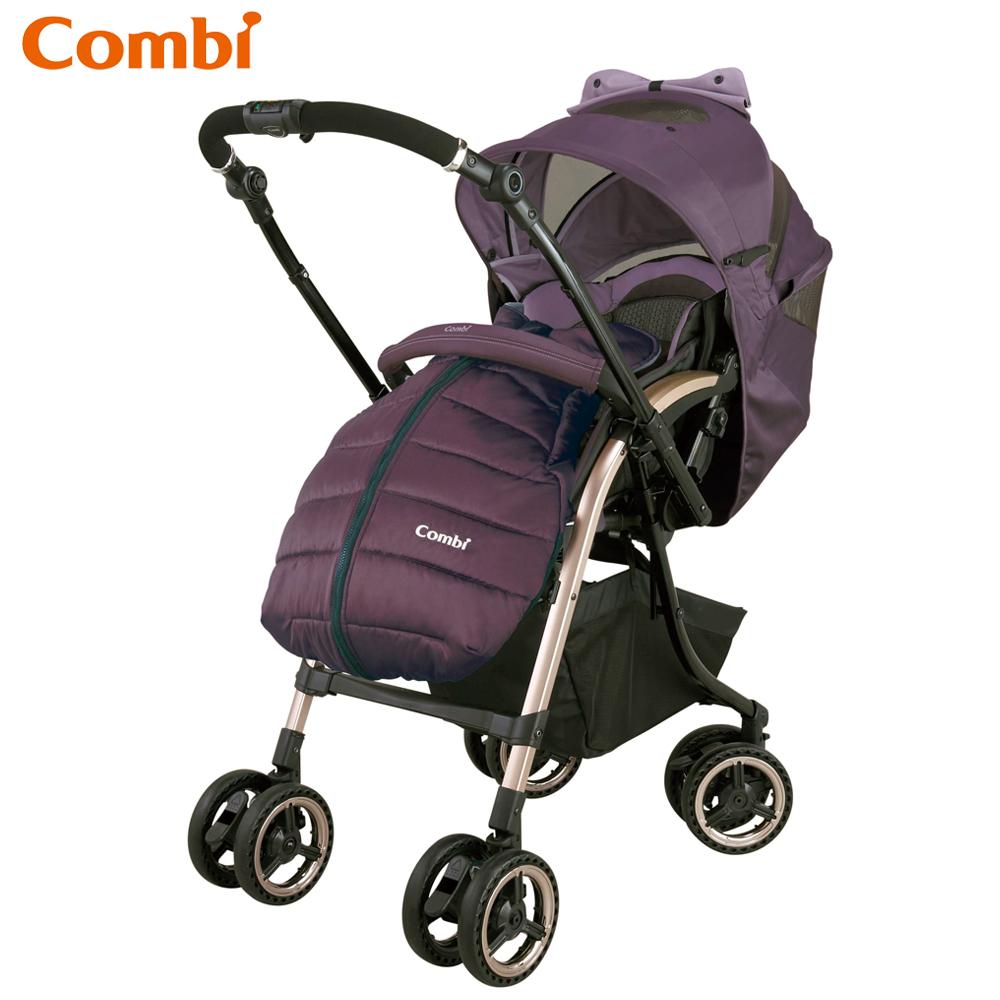 Combi御捷輪III MiracleTurn Elegant嬰兒手推車-羅蘭紫