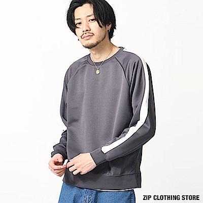 休閒運動衫(6色) ZIP日本男裝