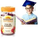 《Sundown日落恩賜》兒童精明魚油QQ軟糖(50粒/瓶)