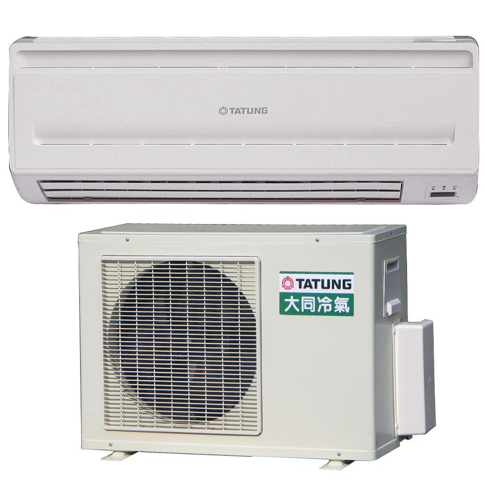 [單機不含安裝]大同7-10坪節能環保定頻冷氣(R-362DHN/FT-362DJN)