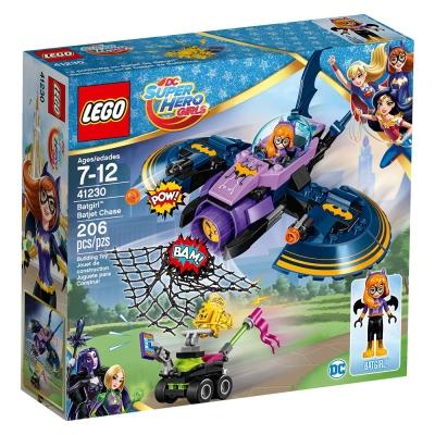 LEGO樂高 超級女英雄系列 41230 蝙蝠女的蝙蝠戰機追擊 (7Y+)