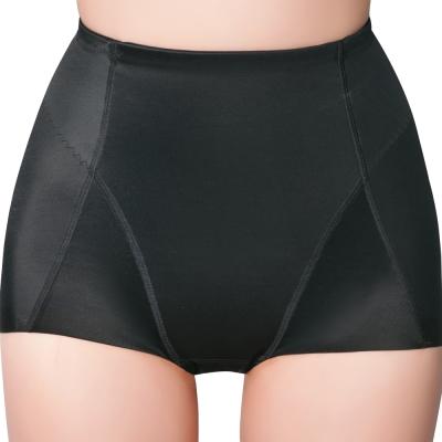 思薇爾 舒曼曲現 輕塑型系列高腰平口束褲-黑色