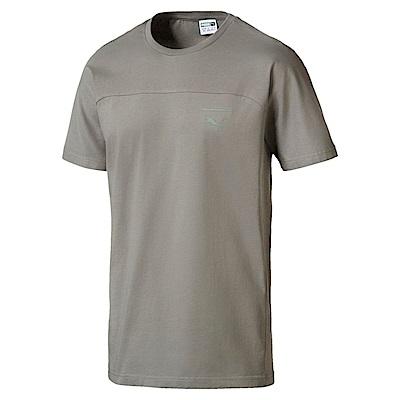 PUMA-男性流行系列Pace首選短袖T恤-海狸灰-亞規