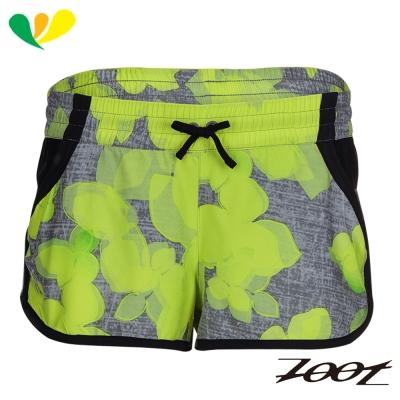 ZOOT 頂級極致冰涼感2吋綁帶式跑褲(女)(檸檬黃) Z1704011