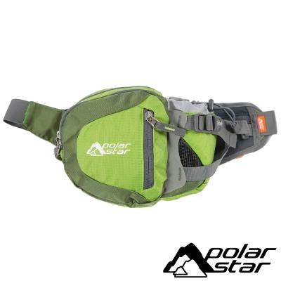 【PolarStar】休閒腰包『綠』露營│健行│旅遊 P15814-401