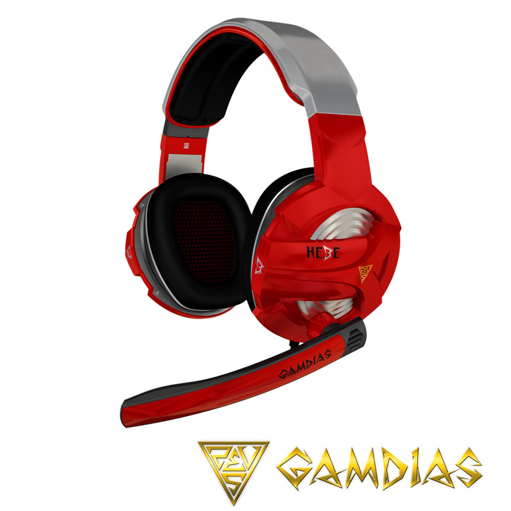 GAMDIAS 聖殿騎士立體聲道電競耳機