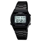 CASIO 大錶面簡約酒桶型數位錶(B-640WB-1A)-沉穩黑/35mm