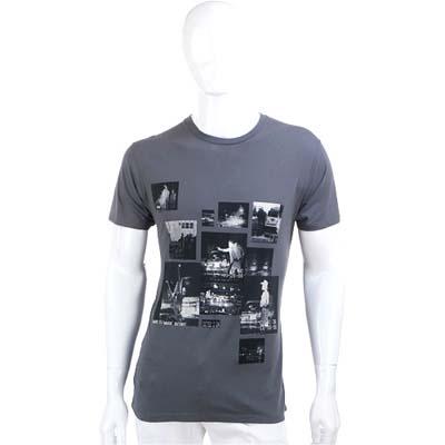 MARC BY MARC JACOBS 灰色復古照片棉質短袖T恤
