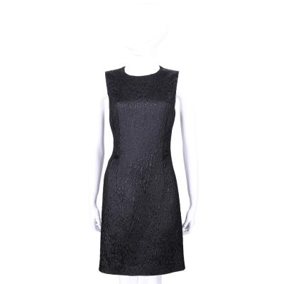 PHILOSOPHY 黑灰色水波圖紋設計無袖洋裝