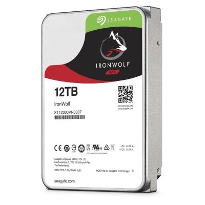 Seagate 哪嘶狼 Ironwolf 3.5吋 12TB NAS專用硬碟
