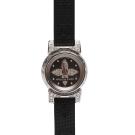 LV Q151K1 TAMBOUR BIJOU原花紋錶帶鏡面鑲鑽石英仕女腕錶(黑16mm)
