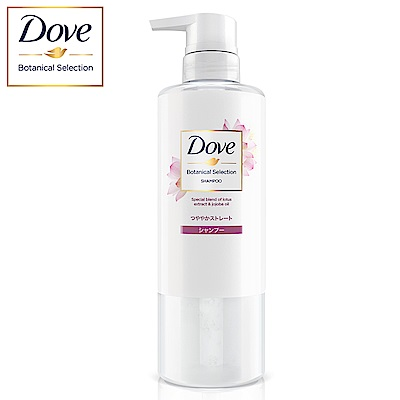 DOVE 多芬 日本植萃柔順保濕洗髮露 荷花精萃 500G