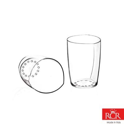 義大利RCR世界得獎無鉛水晶點心杯(2入)170cc