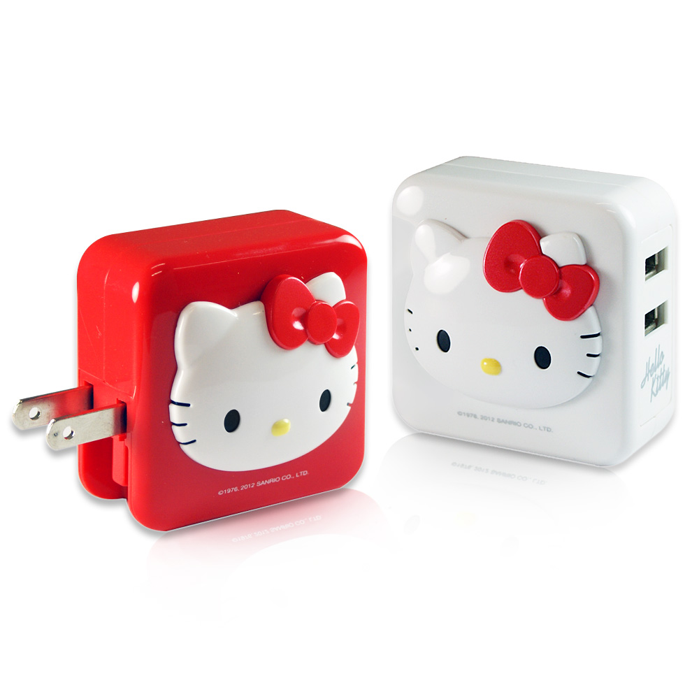Hello Kitty iChargerII AC 轉 USB 充電器 (KT-CR02)