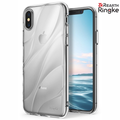 Ringke iPhone X [Flow] 超薄流線型防滑背蓋透明手機殼