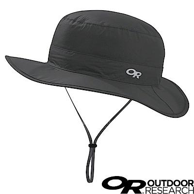 【美國 Outdoor Research】防水防曬透氣可調可收折遮陽帽_碳黑