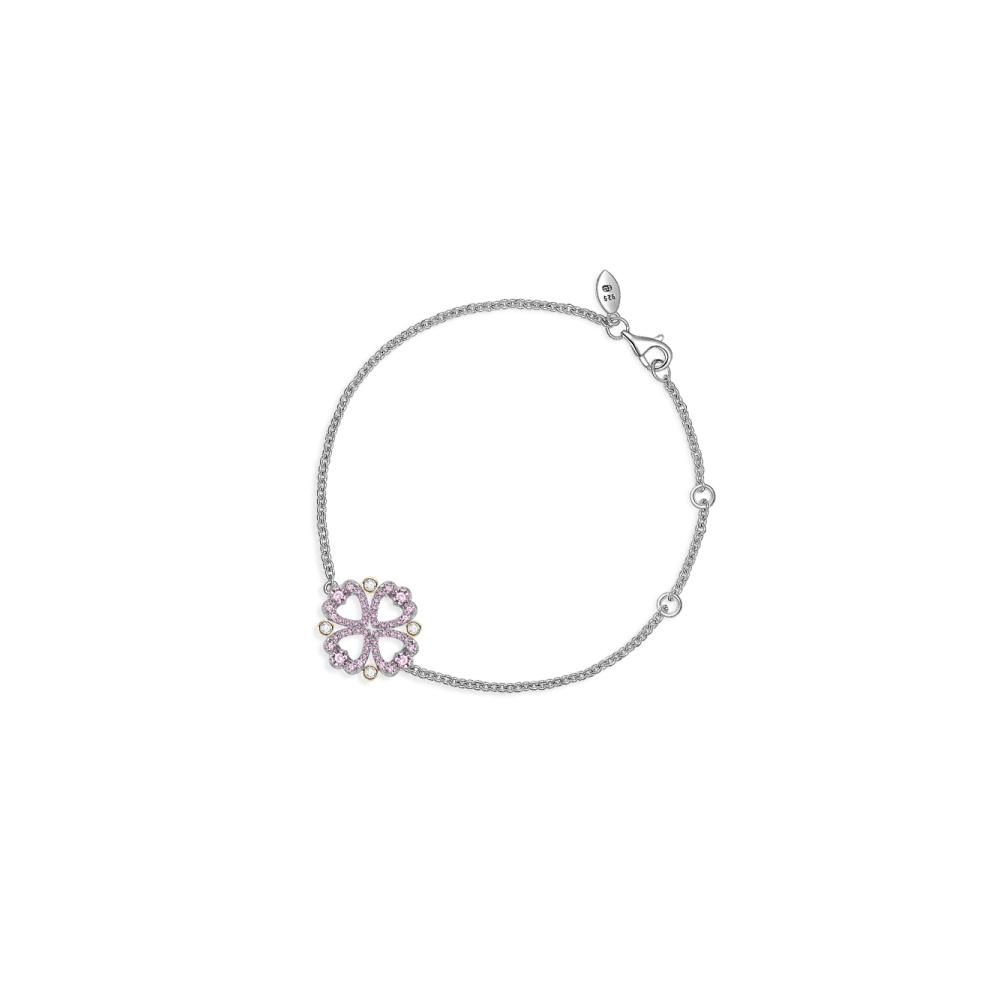 SOUFEEL索菲爾 925純銀珠飾 愛的印記 手鍊