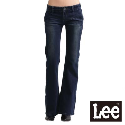 Lee 牛仔褲408 中腰標準靴型-女款(二手深藍) LL120402263