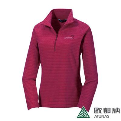 歐都納 A-P1235W POLARTEC 長袖保暖POLO衫(女款)