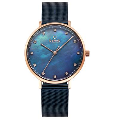 OBAKU 吾愛之名時尚米蘭帶錶-V186LXVLML/37mm