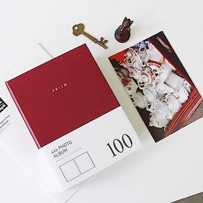 Indigo Prism插入式4X6黑頁相本(100張)-緋紅