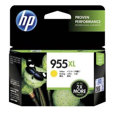 HP 955XL 高容量黃色原廠墨水匣