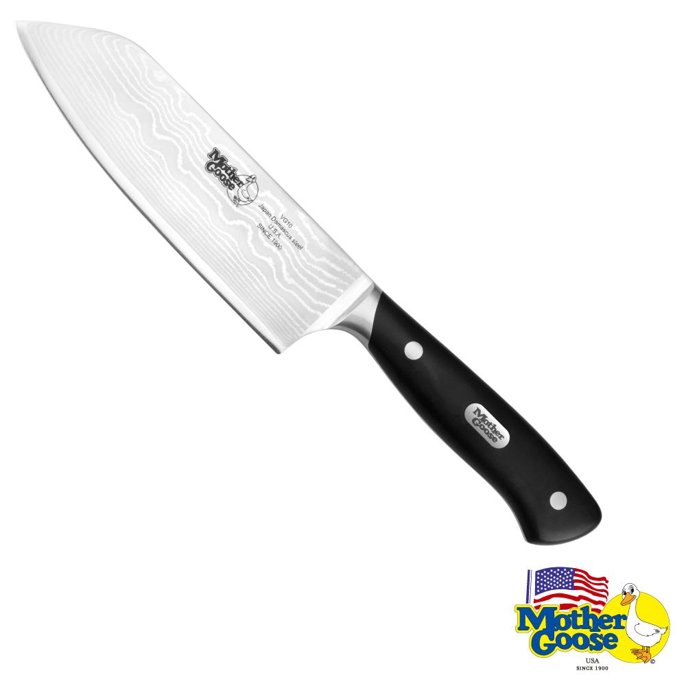 美國鵝媽媽 大馬士革鋼料理刀