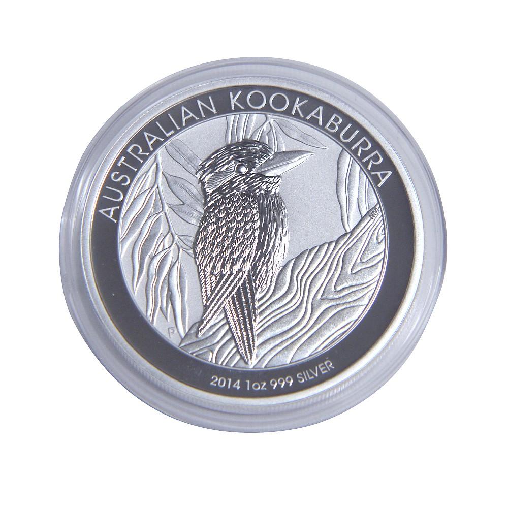 澳洲笑鴗鳥2014年銀幣-1盎司
