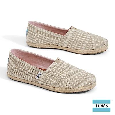 TOMS 部落編織圖騰帆布休閒鞋-女款