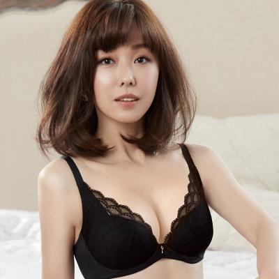 推Audrey-舒波AIR 大罩杯B-E罩內衣(典藏黑)
